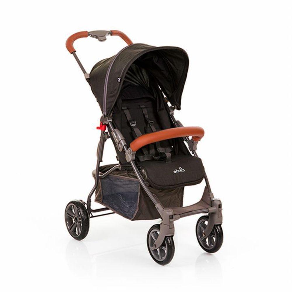 Carrinho De Bebê Treviso Woven Black - ABC Design