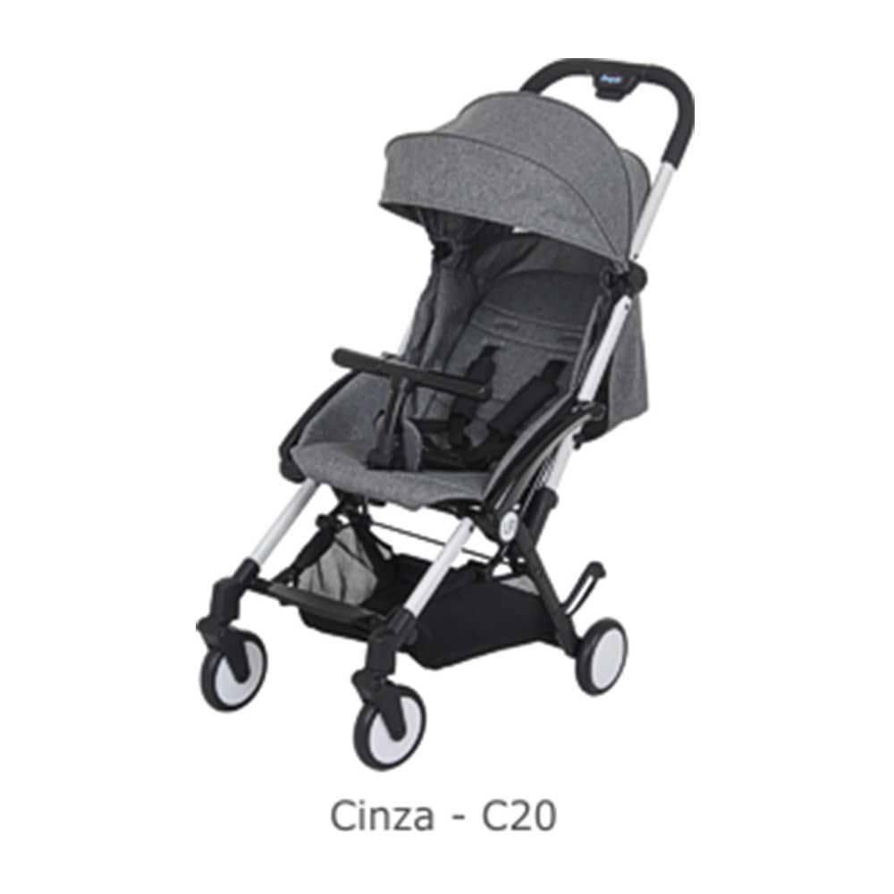 Carrinho de Bebê Up Gray (Cinza) - Burigotto