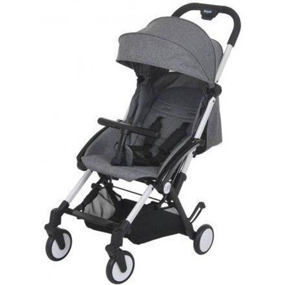 Carrinho de Bebê Up Gray Dobrável (Cinza - Leve e Compacto) - Burigotto