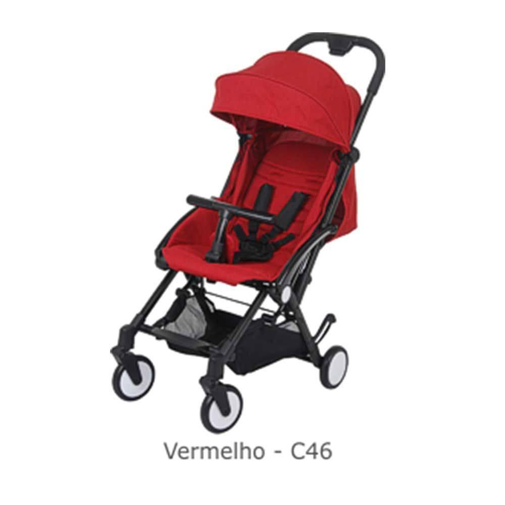 Carrinho de Bebê Up Red (Leve e Compacto) - Burigotto