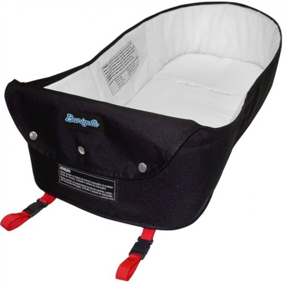 Carrinho Ecco Iris (Azul) com Bebê Conforto Touring Evolution SE com Base e Ninho Pramete - Burigotto