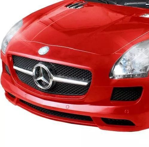 Carrinho Elétrico Infantil Mercedes Vermelho 6 Volts II - Xalingo