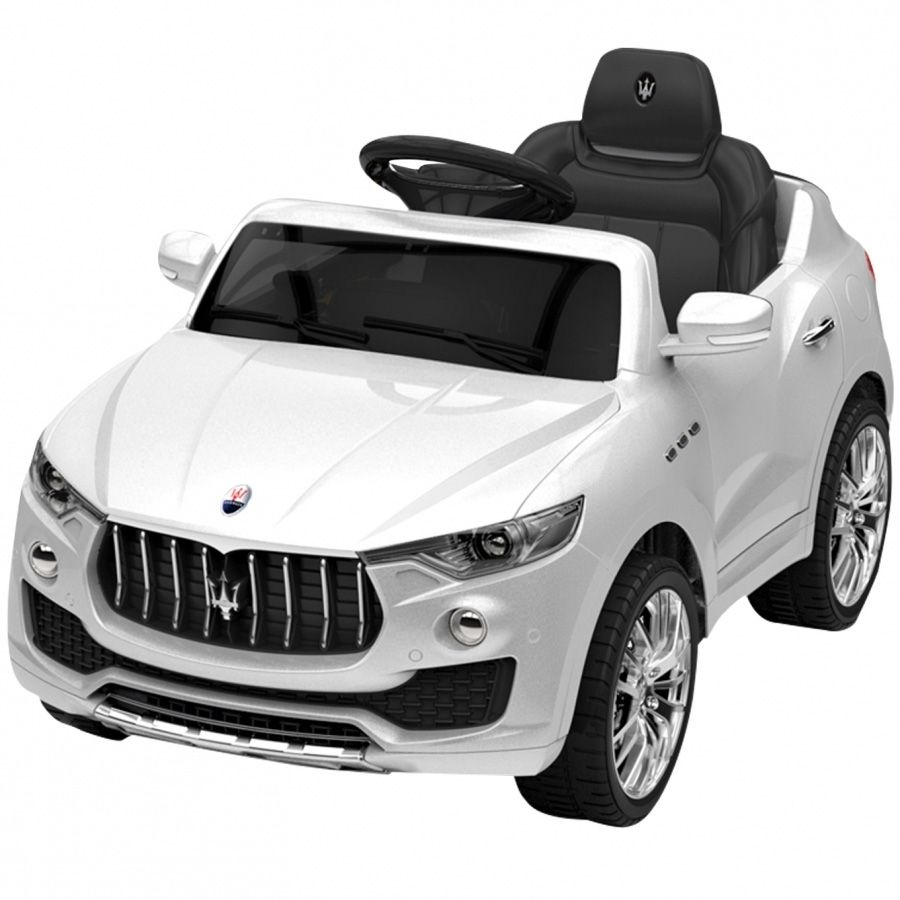 Carrinho Elétrico Maserati Branco - Xalingo