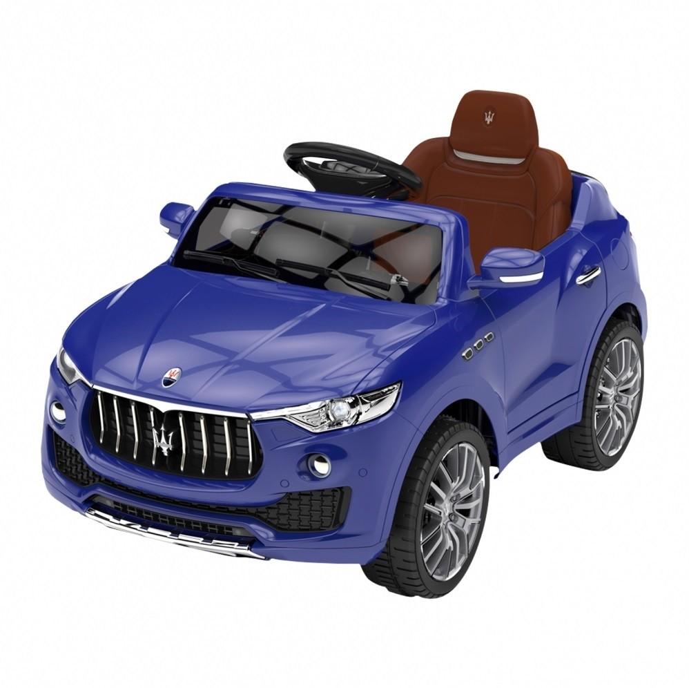 Carrinho Elétrico Maserati Carro 6 Volts Azul - Xalingo