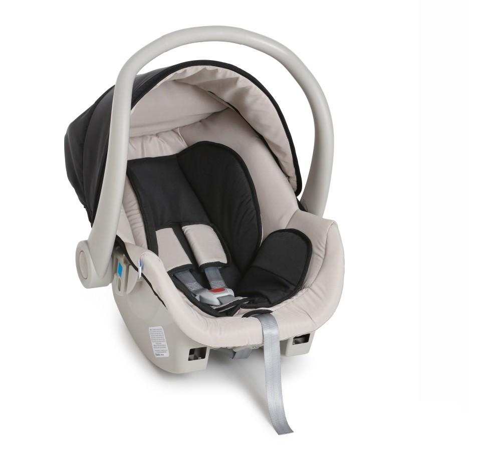 Carrinho Maranello c/ Bebê Conforto - Preto (Novo) - Galzerano