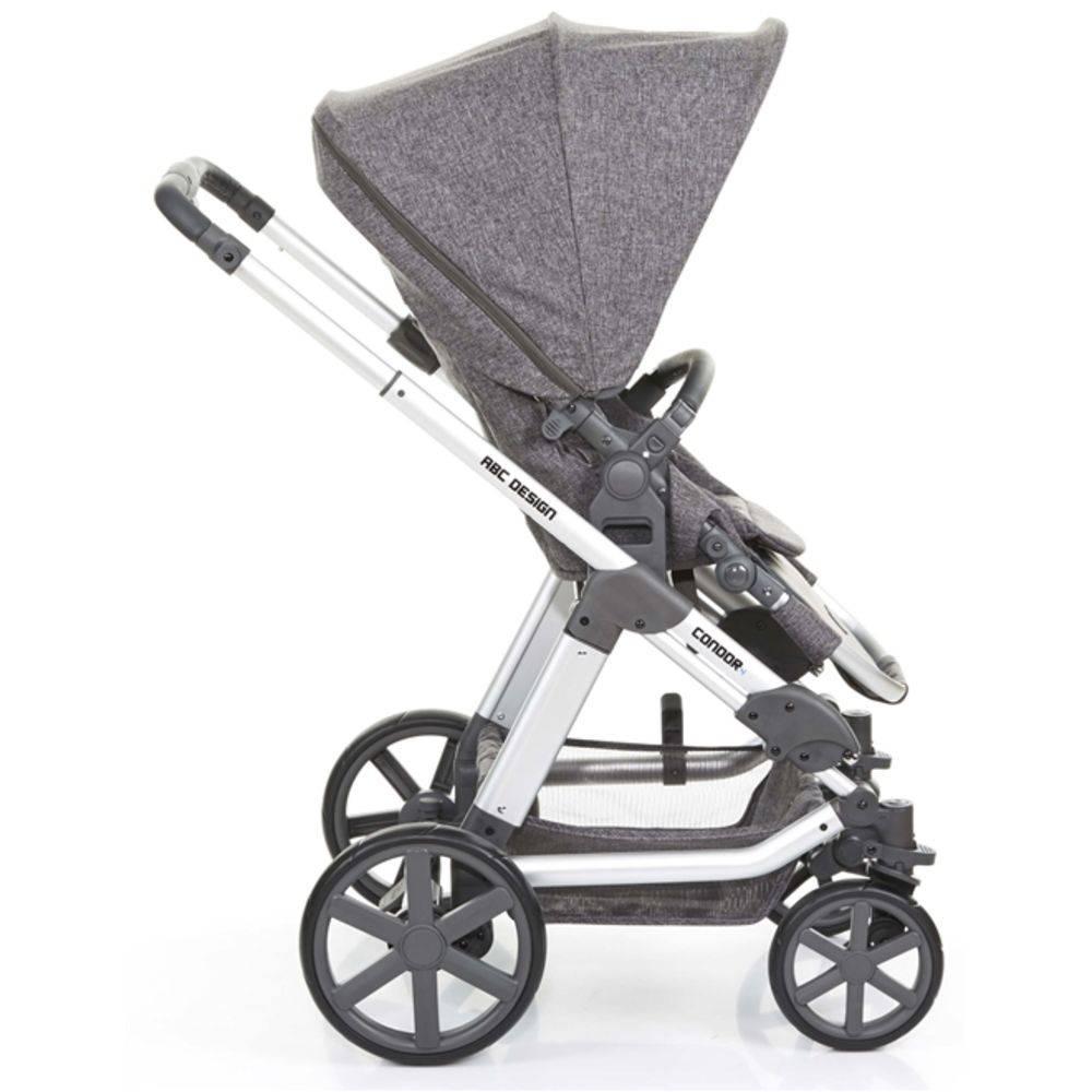 Carrinho Moisés Condor com Bebê Conforto (Confirmar Cor) - ABC Design