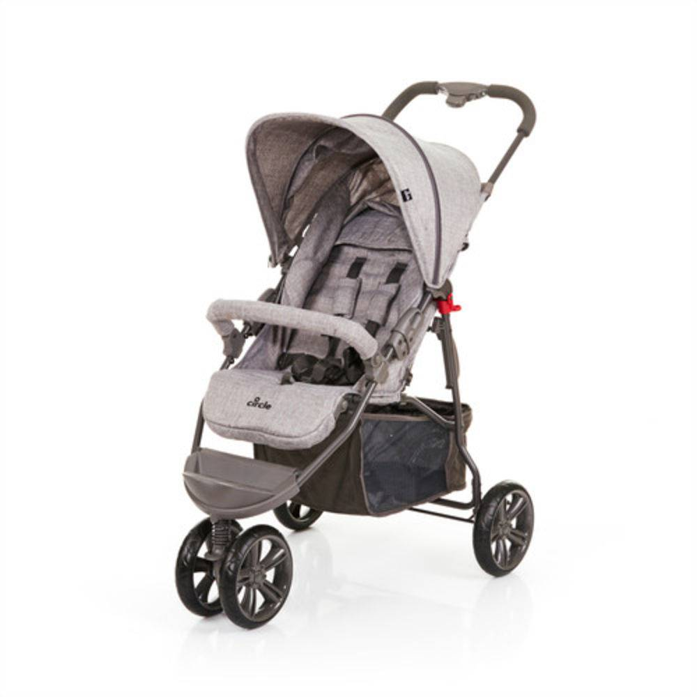 Carrinho Passeio Moving Light Graphite Grey - ABC Design