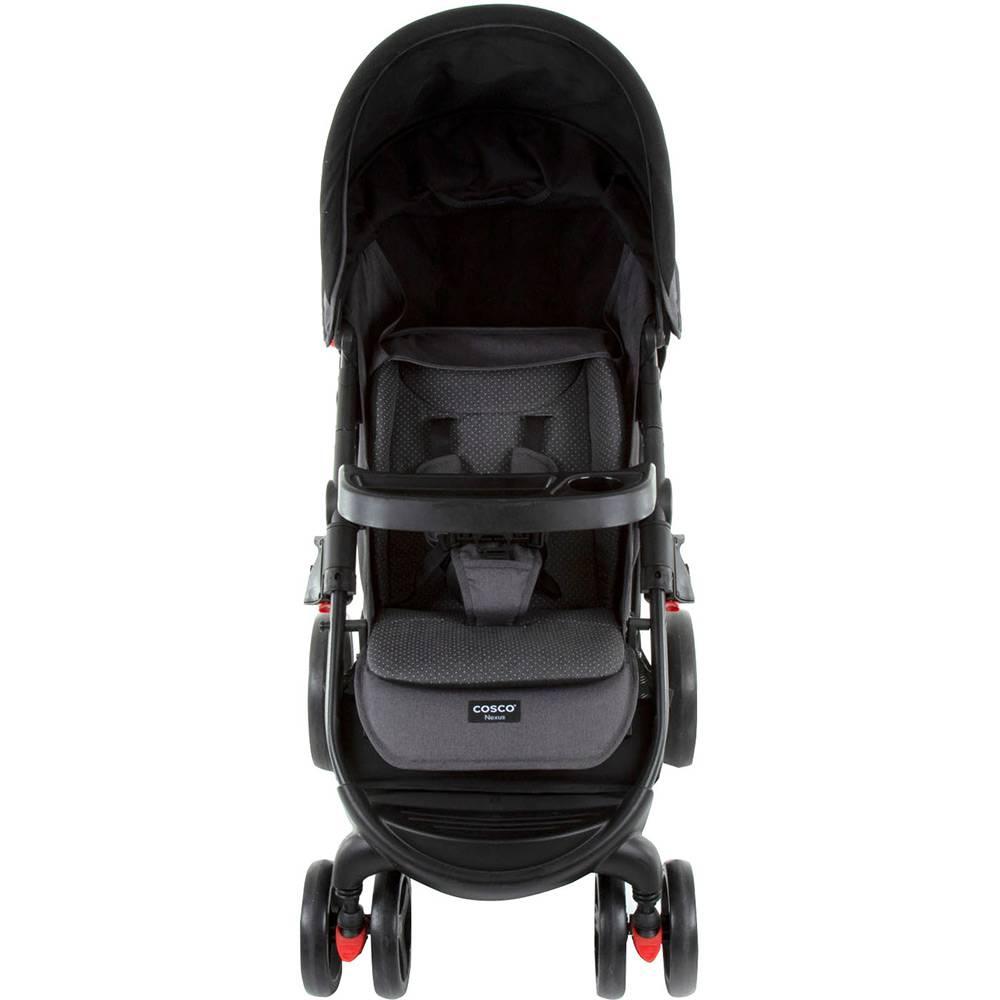 Carrinho Travel System Com Bebê Conforto Nexus Preto Mescla - Cosco