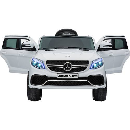 Carro Elétrico 12v Mercedes GLA Branco - Xalingo