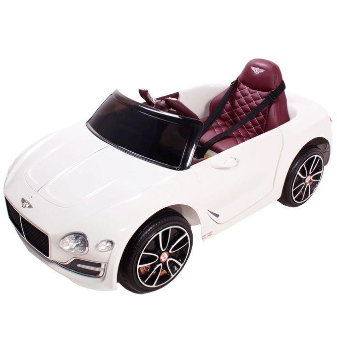 Carro Elétrico Bentley EXP12 12V Branco - Belfix