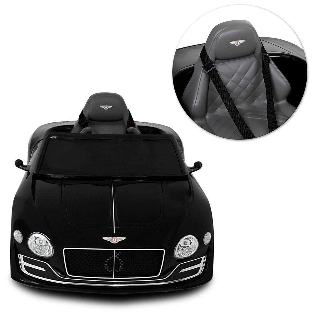 Carro Elétrico Bentley EXP12 12V Preto - Belfix