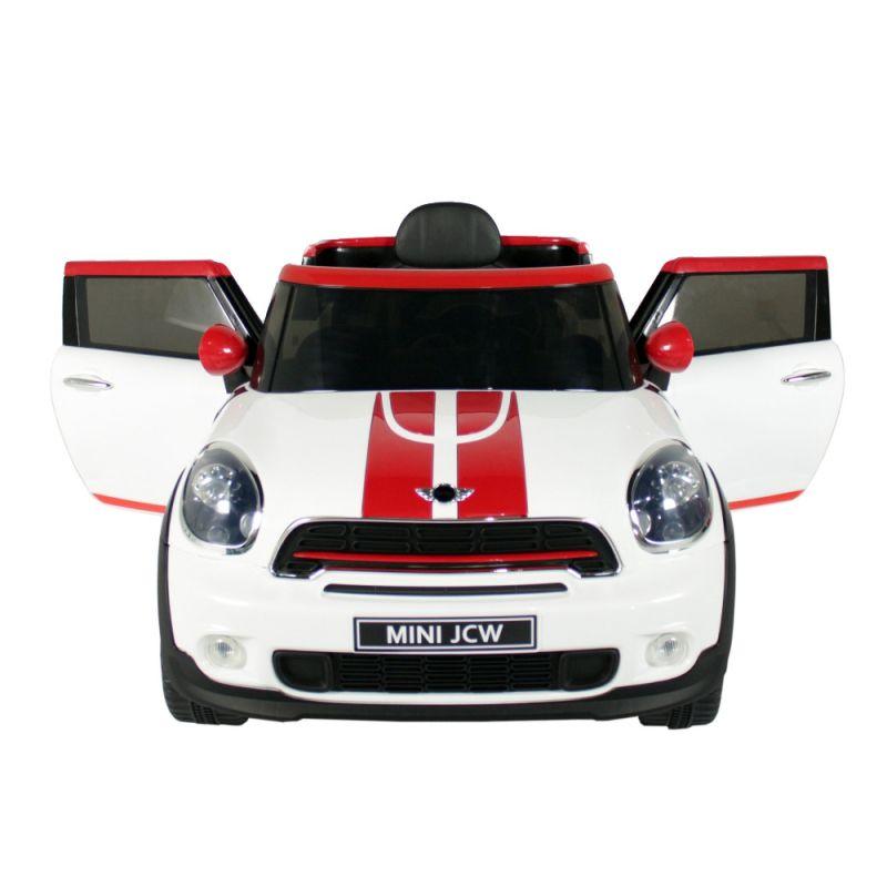 Carro Elétrico Mini Paceman 12v Branco - Belfix