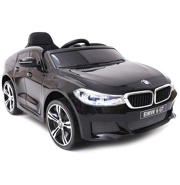 Carro elétrico para crianças BMW 6 GT Preto 12v - Belfix