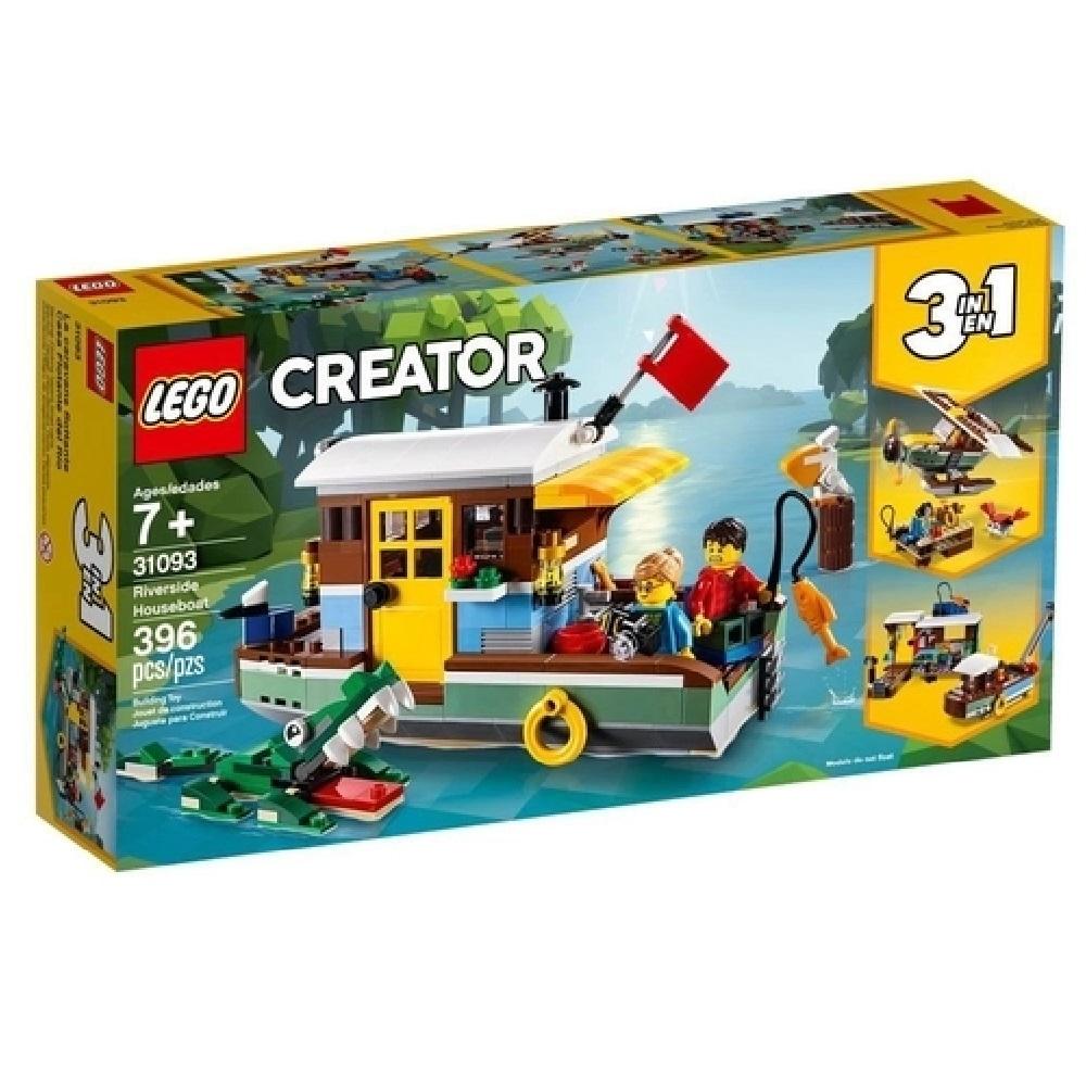CASA FLUTUANTE NA MARGEM DO RIO (31093) - LEGO