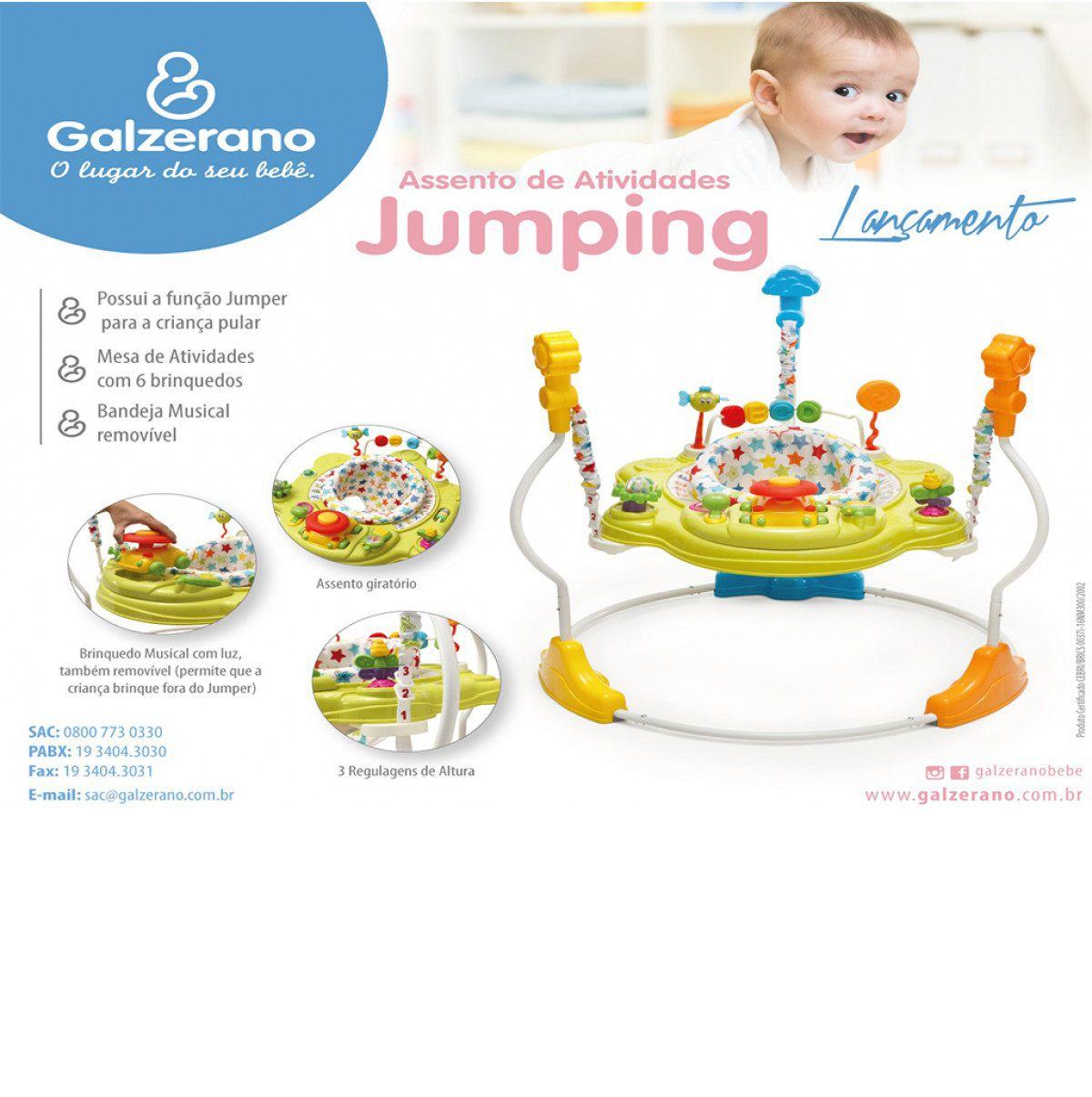 Centro de Atividades Multifunções Jumping - Galzerano