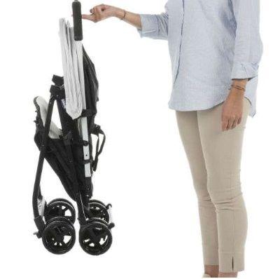 Carrinho com Bebê Ohlala (muito leve) Paprika - Chicco