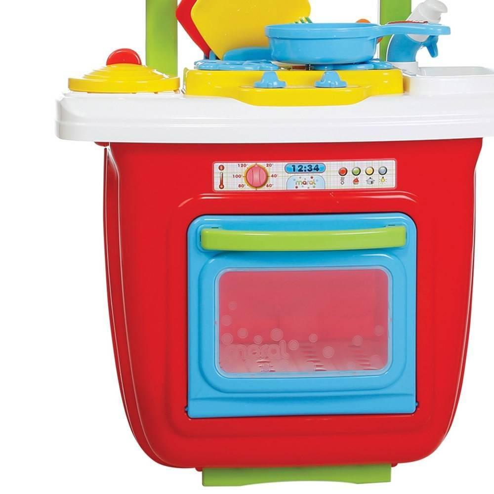 Cozinha Portátil Colorida (Torneira com Água) - Maral