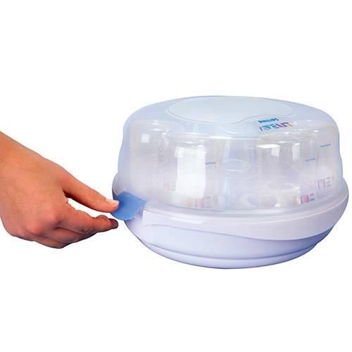 Esterilizador Para Mamadeiras - Microondas (SCF281/02) - Avent