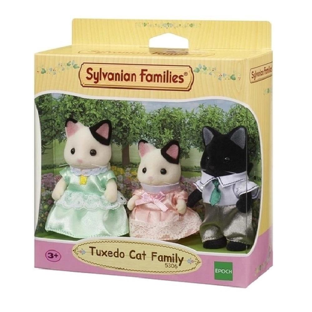 FAMILIA DOS GATOS MALHADOS SYLVANIAN FAMILIES - EPOCH MAGIA