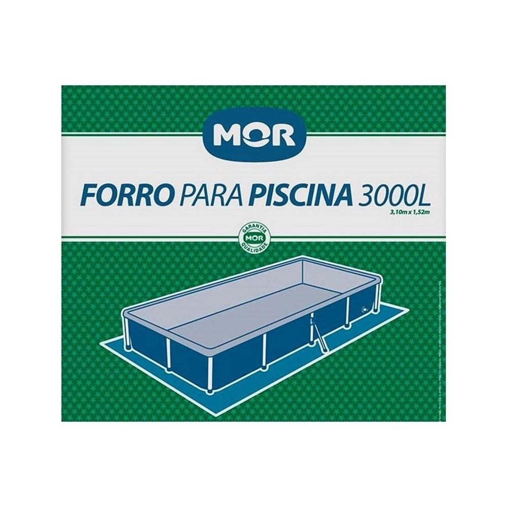 FORRO PARA PISCINA MOR 3.000 L STANDARD (1454) - MOR