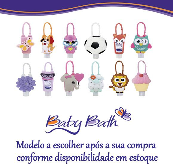 GEL REFRESCANTE 30ML COM HOLDER (BRINDE) - BRASBABY