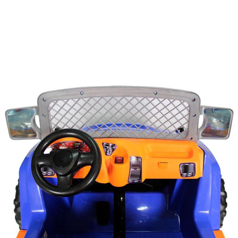 Jipe Elétrico Infantil Dunas A18 12v Azul - Belfix