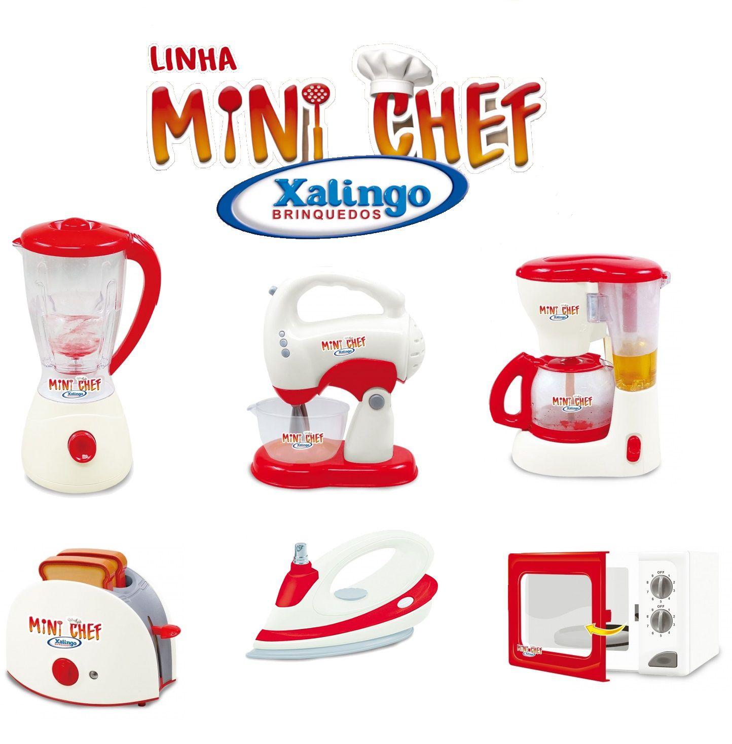 Kit Cozinha Infantil Mini Cheff com Movimento e Luz - Xalingo