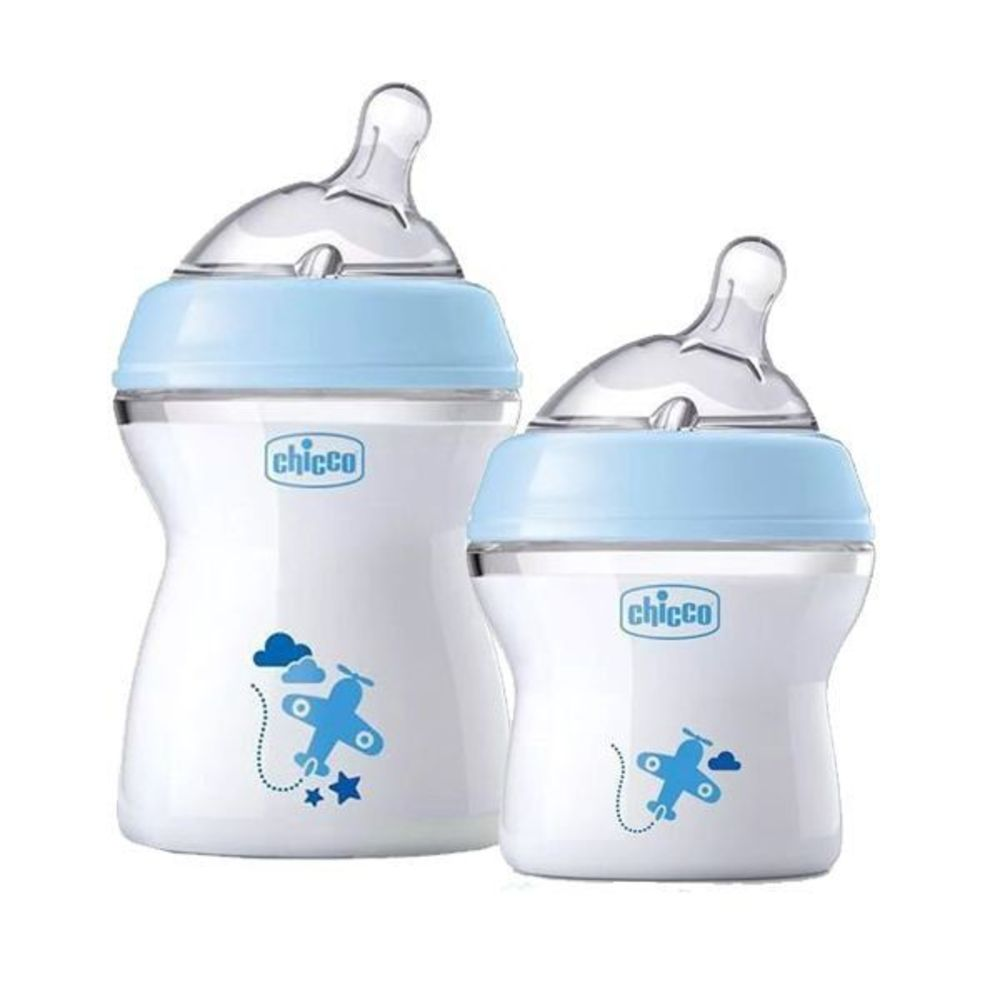 Kit Mamadeira Step Up 150ml E 250ml - Chicco Azul