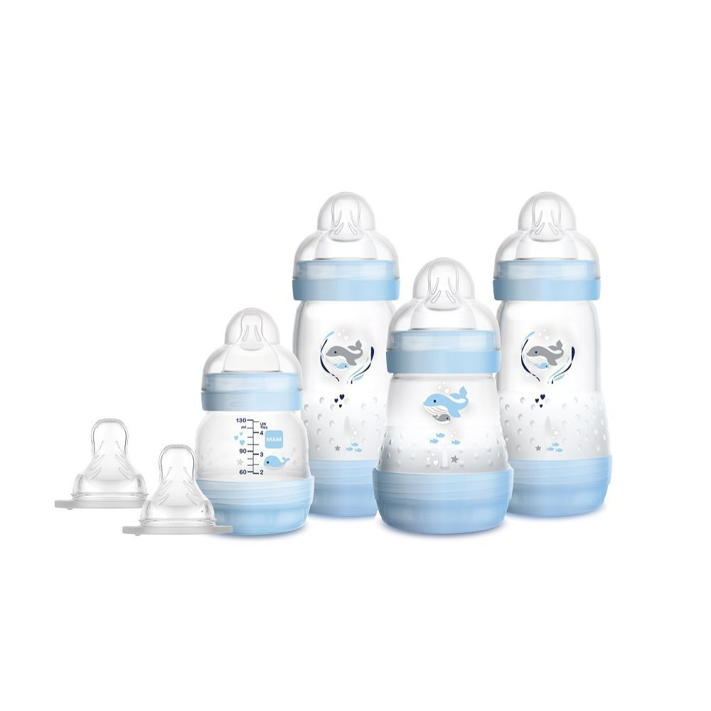KIT MAMADEIRAS EASY START GIFT SET AZUL - MAM