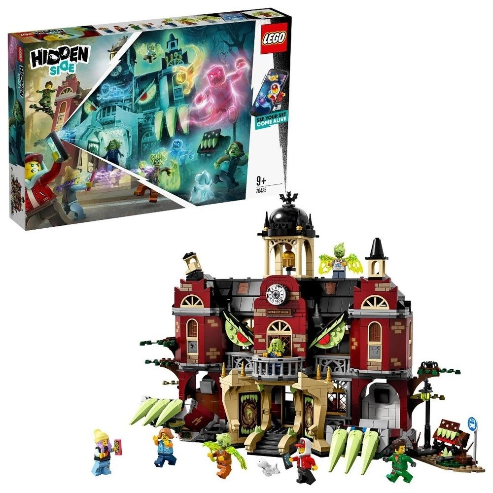 LEGO HIDDEN SIDE ESCOLA ASSOMBRADA DE NEWBURY (70425) - LEGO