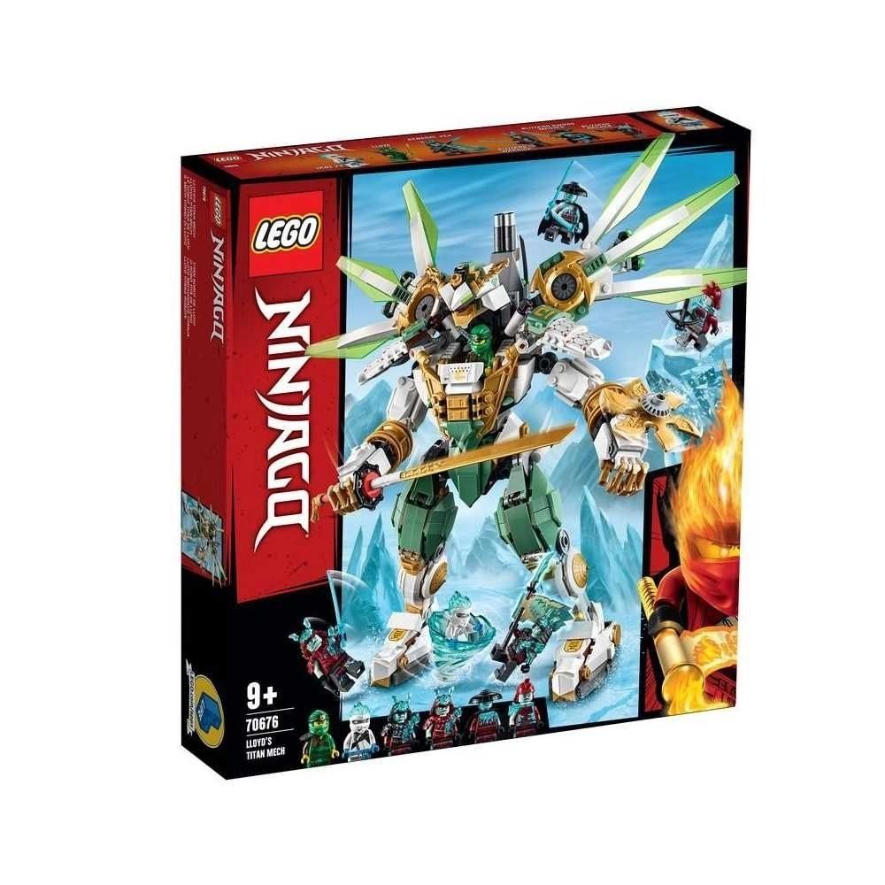 LEGO NINJAGO O ROBO TITÃ DO LLOYD (70676) - LEGO