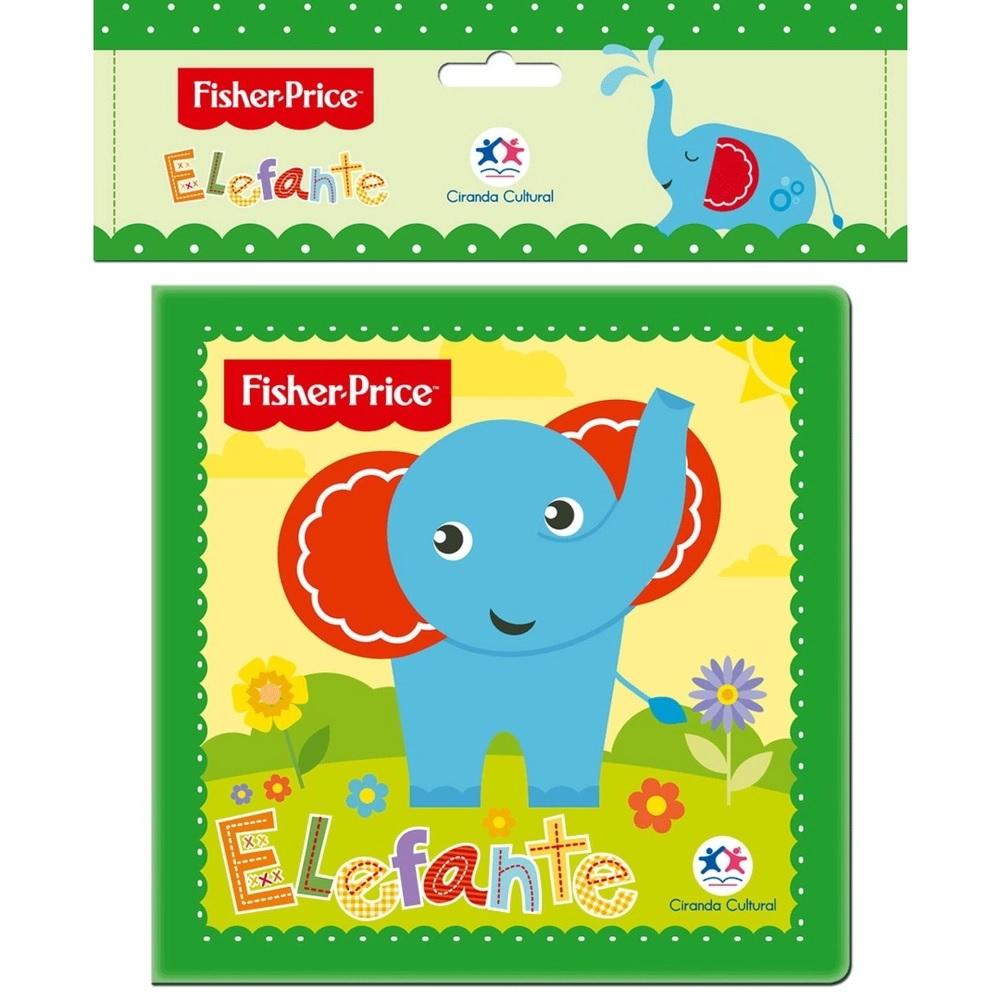 LIVRO DE BANHO ELEFANTE (75363)- FISHER PRICE
