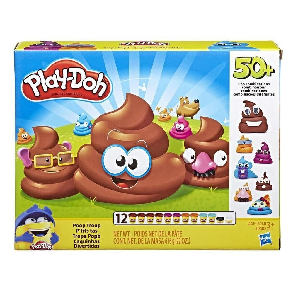 MASSINHA PLAY DOH CAQUINHAS DIVERTIDAS (E5810) - HASBRO