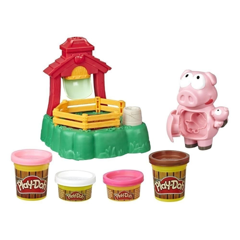 MASSINHA PLAY DOH PORQUINHOS BRINCALHOES (E6723)- PLAY DOH