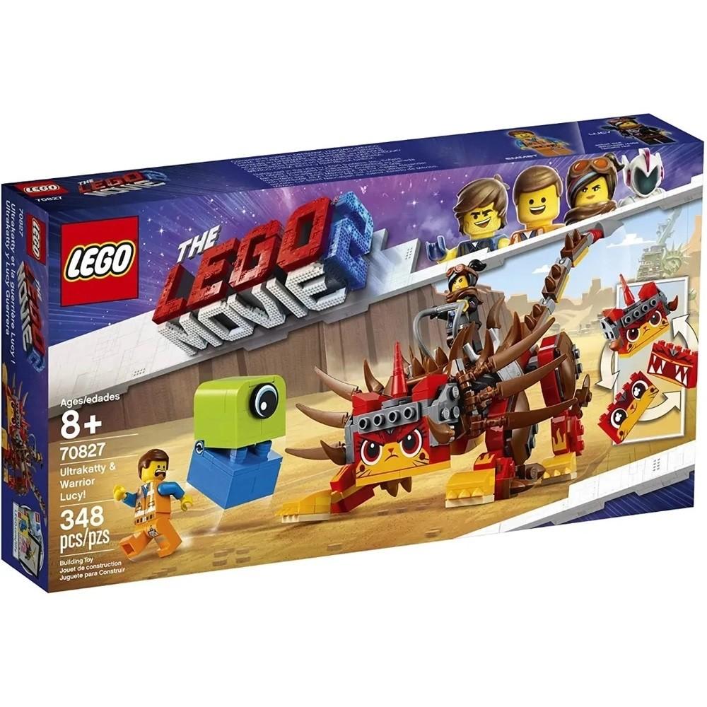 MEGAESTILO GUERREIRA E ULTRAGATA! (70827) - LEGO