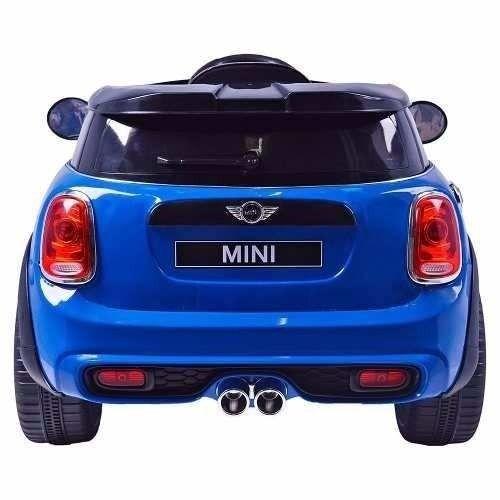 Mini Cooper Elétrico (Azul) R/C 12V II - Belfix