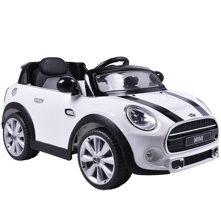 Mini Cooper Elétrico (Branco) R/C 12V II - Belfix