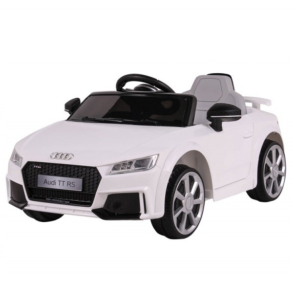 Mini Veículo Elétrico Audi TT RS (Branco) R/C 12V - Belfix