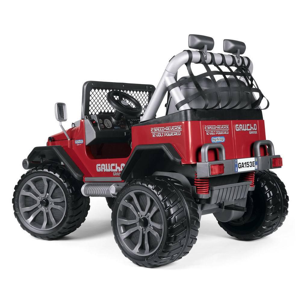 Mini Veículo Gaucho Grande Red (Vermelho) 12v Bivolt - Peg-Pérego