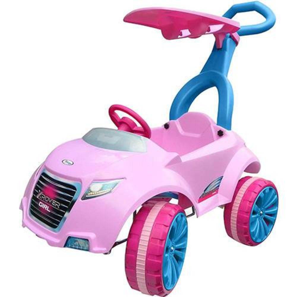Mini Veículo Infantil Carro Xrover Pedal Girl (Rosa) - Xalingo