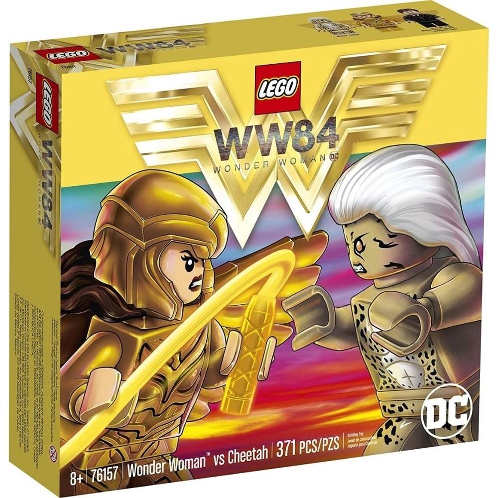MULHER MARAVILHA? VS CHEETAH (76157) - LEGO