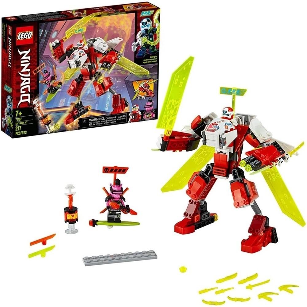 NINJAGO O JATO ROBO DO KAI (71707) - LEGO