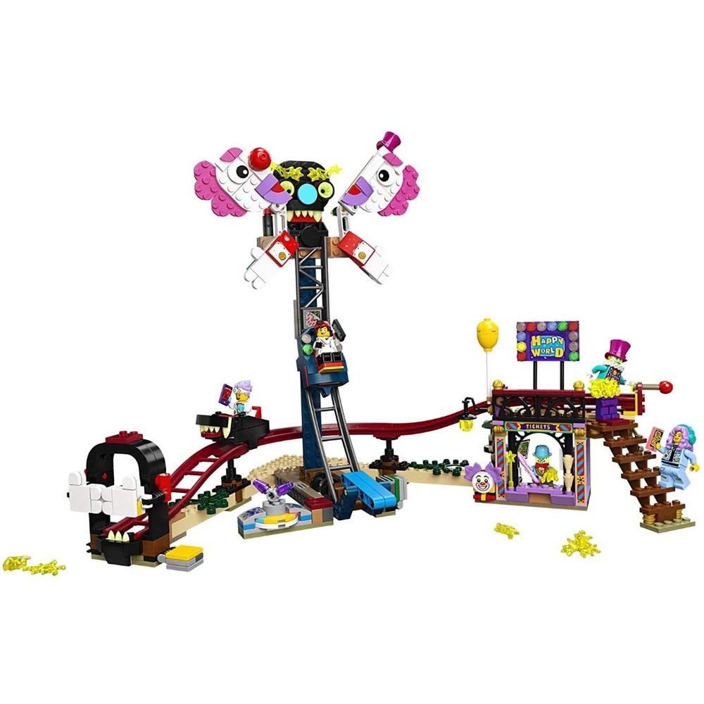 PARQUE DE DIVERSOES MAL-ASSOMBRADO (70432) - LEGO