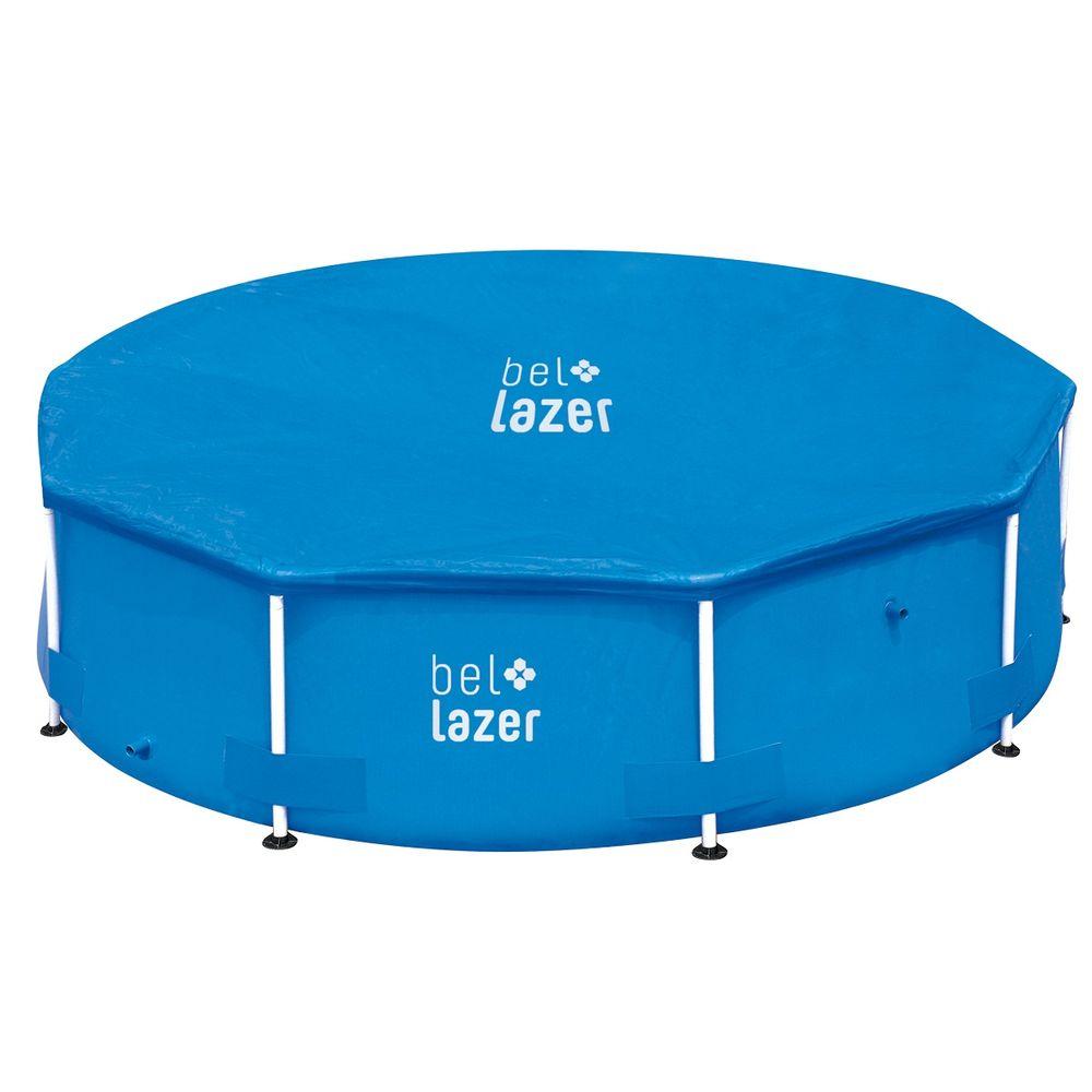 Piscina De Armação 10.000L (com Capa e Bomba Filtro 110v) - Bel Lazer
