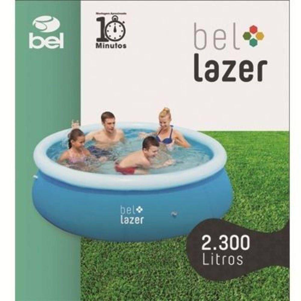 Piscina Inflável Bel Life 2.600 L - Bel Lazer