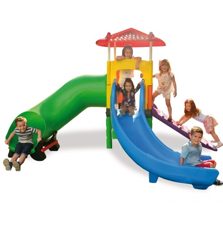 Playground Fun Play (Casinha e Escorregador) - Xalingo