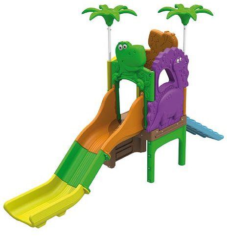 Playground Ilha dos Fofossauros (Escorrega e rampa) - Xalingo