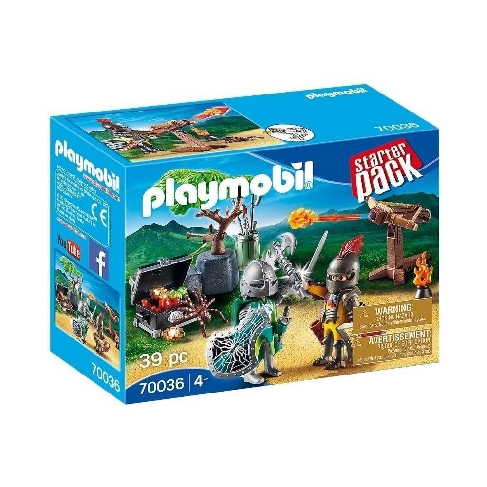 PLAYMOBIL STARTER PACK CAVALHEIROS DO TESOURO - SUNNY
