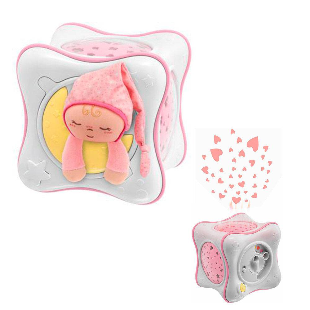 Projetor Rainbow Cube - Rosa - Chicco