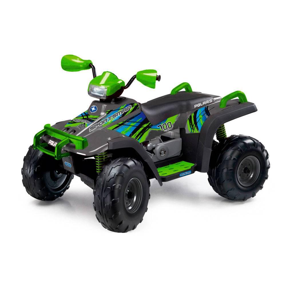 Quadriciclo Elétrico Polaris Sportsman 700 Twin 12v Lime (Verde) - Peg-Pérego